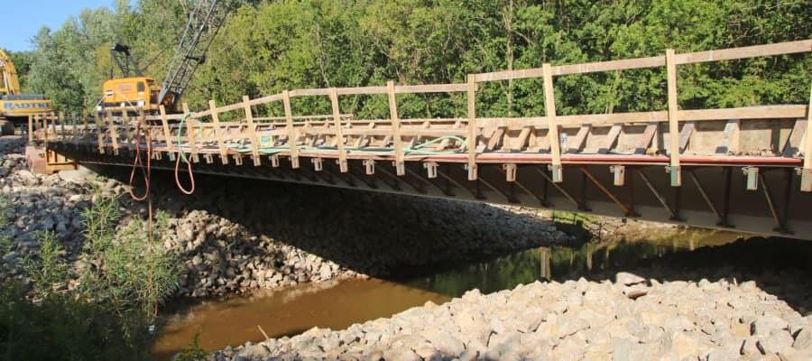 Highway D Bridge Construction